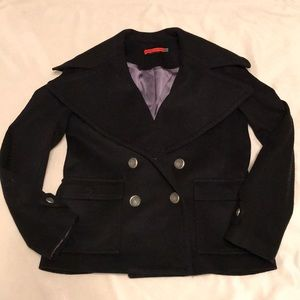 Alice and Olivia wool/cashmere coat